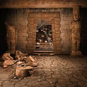 Ancient stone temple — Stock Photo