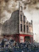 Street rubble — Stock Photo