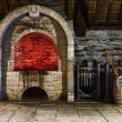 Stock Photo: Blacksmith's furnace