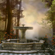 Fountain in the forest — Stock Photo #29154467