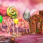 Постер, плакат: Candy landscape