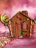 Casa de doces — Fotografia Stock