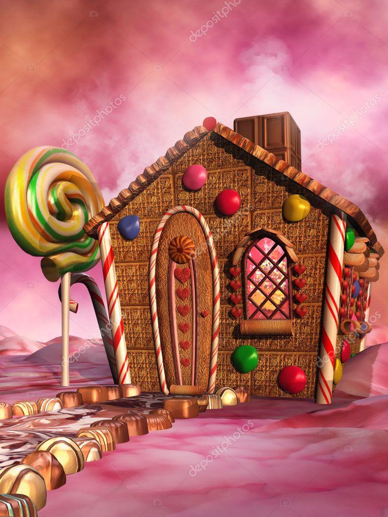 Casa di caramelle foto stock fairytaledesign 30653517 for Casa di caramelle