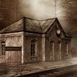 Old railway station — Stock Photo