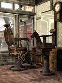 Old barber's shop — Foto de Stock