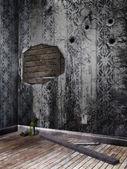 Staré opuštěné místnosti — Stock fotografie