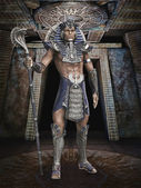 Fantasy pharaoh — Stock Photo