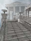 Ancient Greek stairs — Foto de Stock