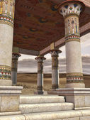 Ancient Egyptian temple — Stock Photo