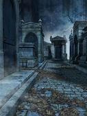 Cemetery lane — Foto Stock