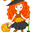 Witch — Stock Vector #29111741