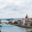HUNGARIAN PARLIAMENT BUILDING, BUDAPEST — Stock Photo #12730127