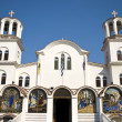Orthodoxy church in Paralia, Greece — Stock Photo
