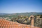 Rooftop of Meteora monastery — Stock Photo