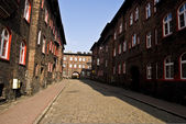 Nikiszowiec, historical district of Katowice, Poland — Stock Photo