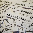 Shareholders — Stock fotografie