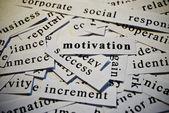 Motivation — Stockfoto