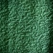 Grunge green material towel background or texture — Stock Photo