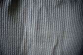 Gray woven striped material background or texture — Stock Photo