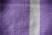Pink or purple white striped material background or texture — Stock Photo