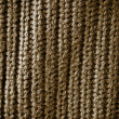 Stock Photo: Brown regular striped and woven material background or texture