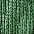 Stock Photo: Green regular striped and woven material background or texture