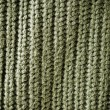 Stock Photo: Olive regular striped and woven material background or texture