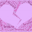 Tag or word cloud love and Valentine's Day related — Stock Photo #38258713