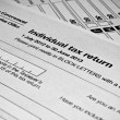 AustraliIndividual tax return form — Stock Photo #40870807
