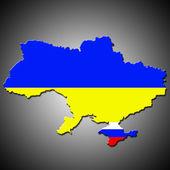Ilustrace související revoluce na Ukrajině — Stock fotografie
