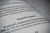 польский гражданского права — Стоковое фото