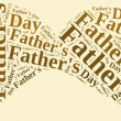 Tag or word cloud Father's Day related — Stock Photo #46392443