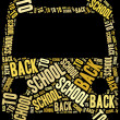 Tag cloud illustration school education related — Stock Photo #50344061
