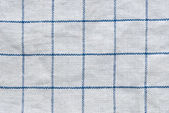Grunge checked fabric background or texture — Stock Photo