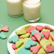 Valentine Day cookies — Stock Photo