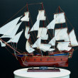Model sailboat — Stock Photo