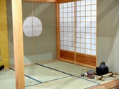 Japanese room — Stockfoto