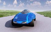 Solar car — Stock Photo