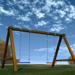 Swing set — Stock Photo #13614410