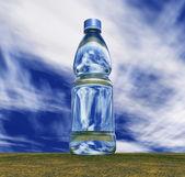 Bottiglia d'acqua — Foto Stock