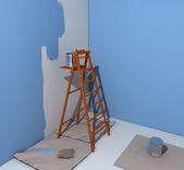 Painter's ladder — Stock fotografie