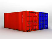 Containers — Stockfoto