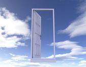 空のドア — ストック写真