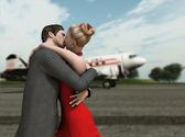 古典的なキス — ストック写真