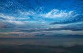 Hermoso cielo sobre el mar báltico — Foto de Stock