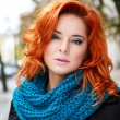 Womwith red hair — Stock Photo #13648939