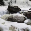 Foaming water among the stones — Stockvideo