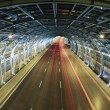 Modern tunnel and traffic — Stock Photo #30967993