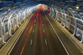 Modern tunnel and traffic — Stock fotografie