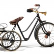 Old bike in retro style — Stock Photo #35589269